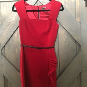 Red mini-dress from EXPRESS, size 4